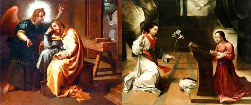 Annunciazione a Giuseppe e a Maria