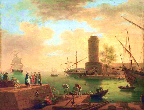 Antico porto di Marsiglia