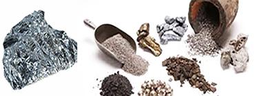 Antimonio grezzo e sue granulazioni