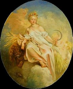 Antoine Watteau - Cerere