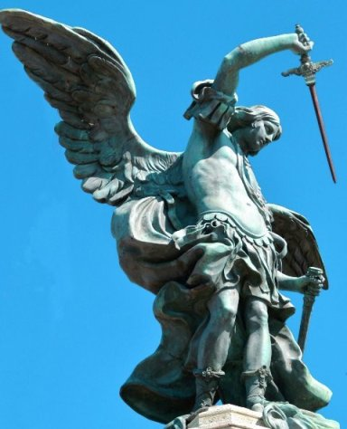Arcangelo Michele su Castel Sant'Angelo