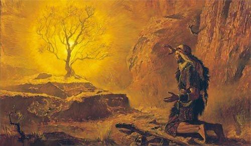 Arnold Friberg - Roveto ardente