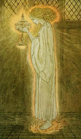 Arthur Rackham «Il San Graal»