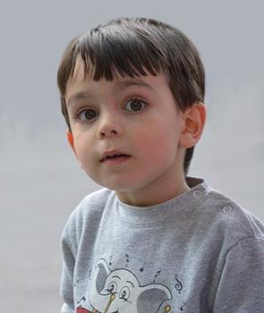 Bambino di 4 anni