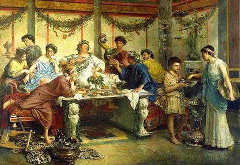 Banchetto nell'antica Roma
