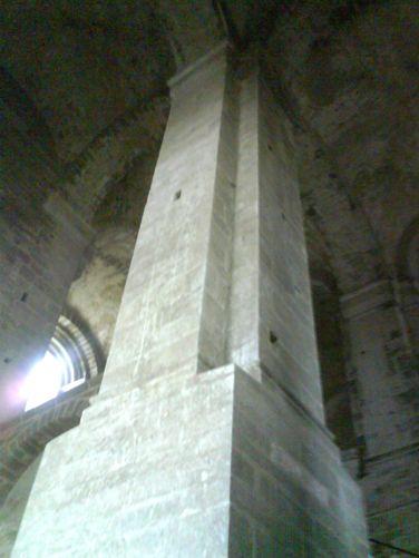 Basamento portante della Sacra