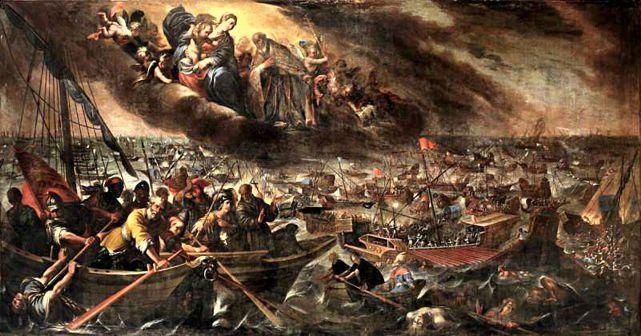 Giovanni Battista del Sole «Battaglia di Lepanto»