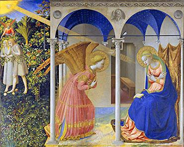 Beato Angelico «Annunciazione»