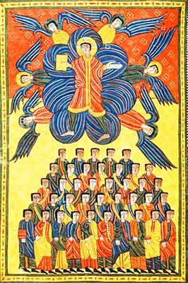 Beato di Liébana «Cristo in trono»