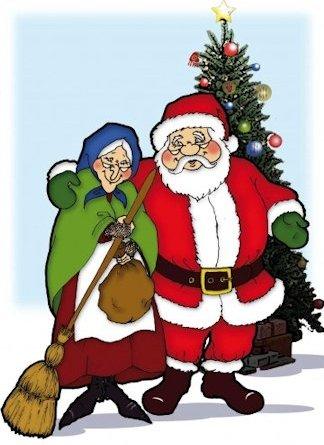 Befana e Babbo Natale