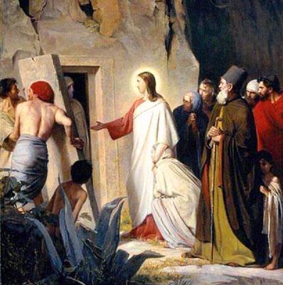 Carl Heinrich Bloch La resurrezione di Lazzaro