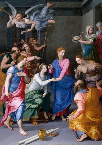 Bronzino «Resurrezione della figlia di Giàiro»