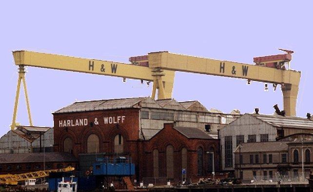Cantieri Harland e Wolff a Belfast