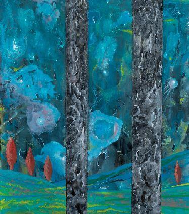 Carmelo Nino Trovato «Cristalli silenti – Aurora boreale»