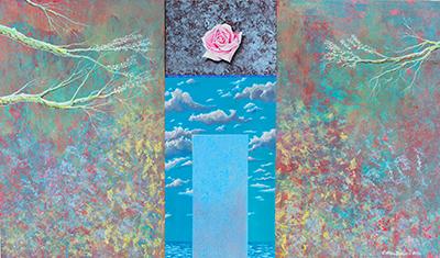 Carmelo Nino Trovato «Cristalli silenti – La porta della rosa»
