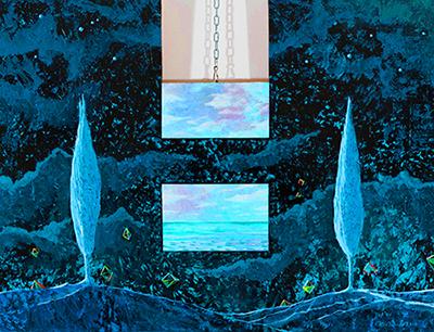 Carmelo Nino Trovato «Cristalli silenti - La porta sul mare»