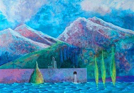 Carmelo Nino Trovato «Le porte regali – Il mare e i monti»