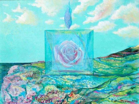 Carmelo Nino Trovato «Le porte regali – Rosa mistica»