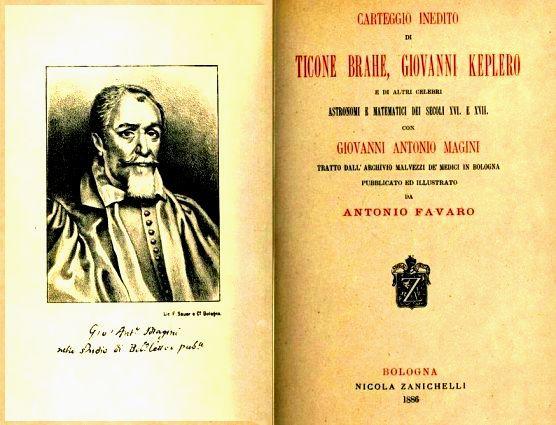 Carteggio inedito Brahe, Keplero e altri