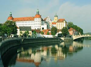 Il castello di Neuburg