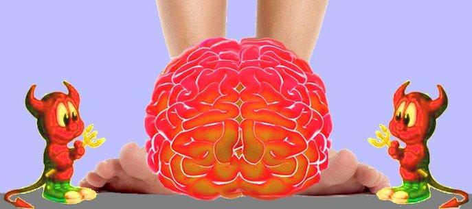 Cervello nei piedi