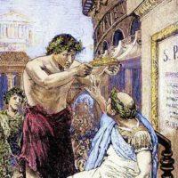 Cesare rifiuta la corona