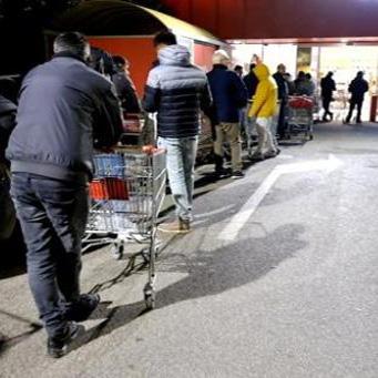 Code al supermercato