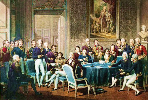 Il Congresso di Vienna – 1815