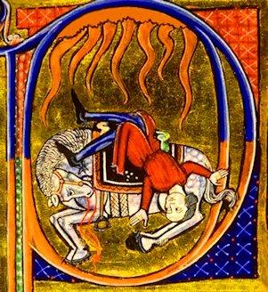 Bibbia di Amiens «Conversione di San Paolo»