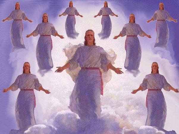 Copie astrale ed eterico Cristo