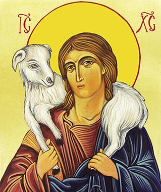Cristo con l'agnello