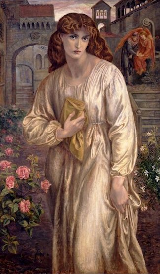 Dante Gabriele Rossetti  «Il saluto di Beatrice»