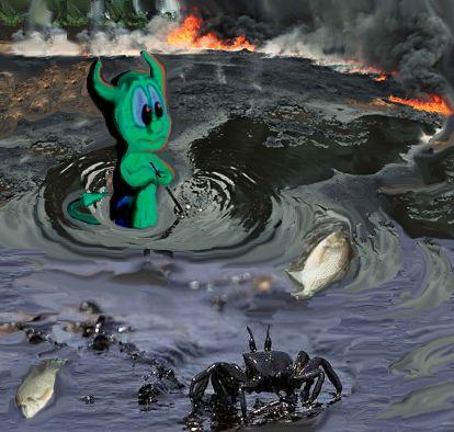 Delta inquinato del Niger