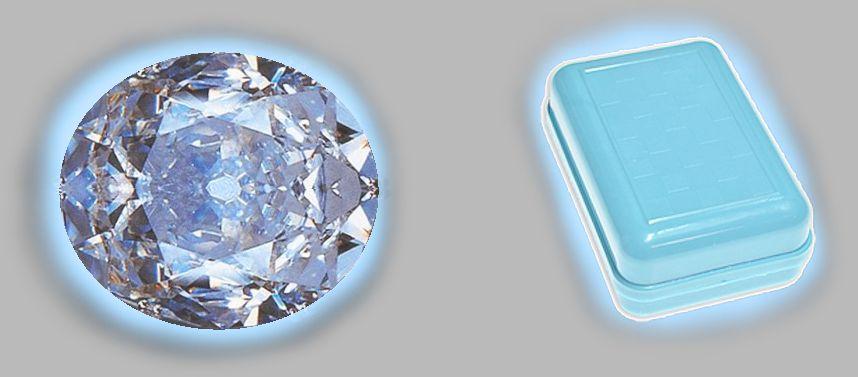Diamante e portasapone