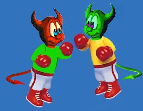 Diavoletti boxeur