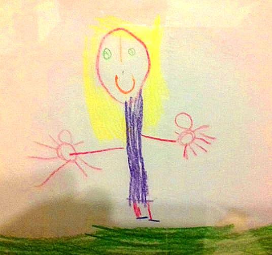Disegno di Maria Sole, 4 anni ca.