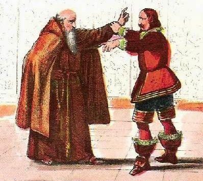 Don Rodrigo e Fra' Cristoforo