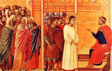 Duccio di Buoninsegna «Quid Veritas?»