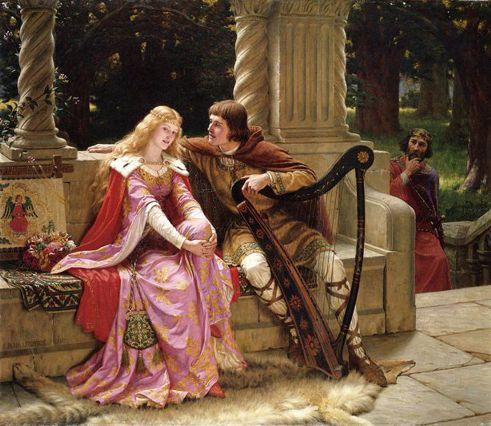 Edmund Blair Leighton «Tristano e Isotta»