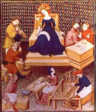 Eleonora promotrice di arti e artigianato