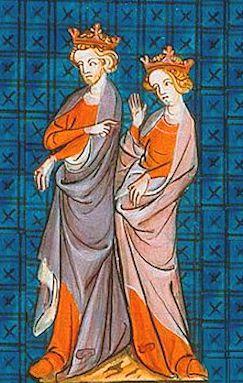 Enrico II ed Eleonora d'Aquitania