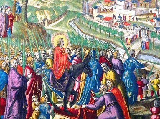 Entrata a Gerusalemme