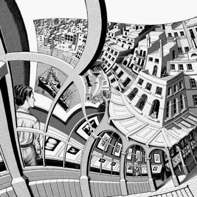 Maurits Cornelis Escher «Galleria di stampe»