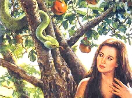Eva e il serpente