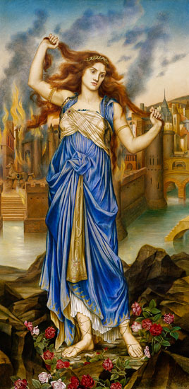Evelyn De Morgan  «Cassandra»