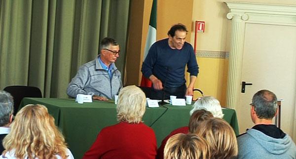 Fabio Burigana e Corrado Solari