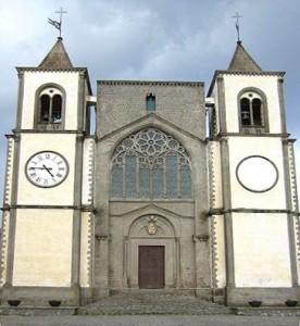 Facciata della cattedrale di San Martino al Cimino