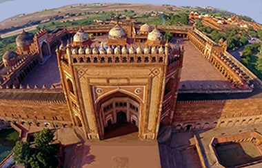 Fatehpur Sikri dall'alto