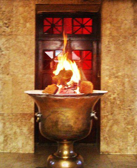 Il culto del fuoco perenne