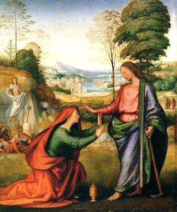Fra Bartolomeo  «Noli me tangere»